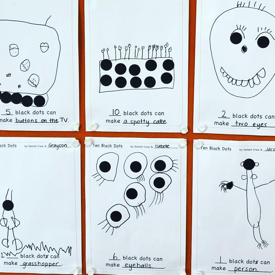 Ten Black Dots It Was Interesting Getting The Children To
