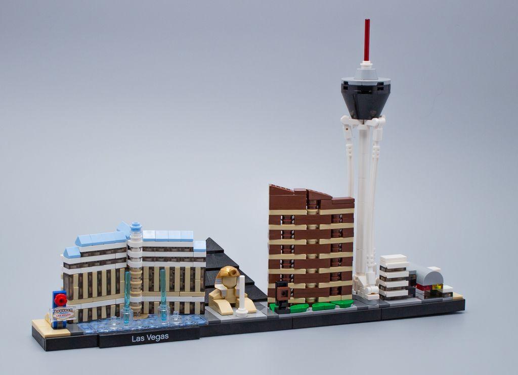 J'ai testé pour vous LEGO Architecture 21047 Las Vegas