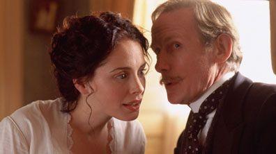 Emily (Laura Fraser) and Osbourne (Bill Nighy) - He Knew He