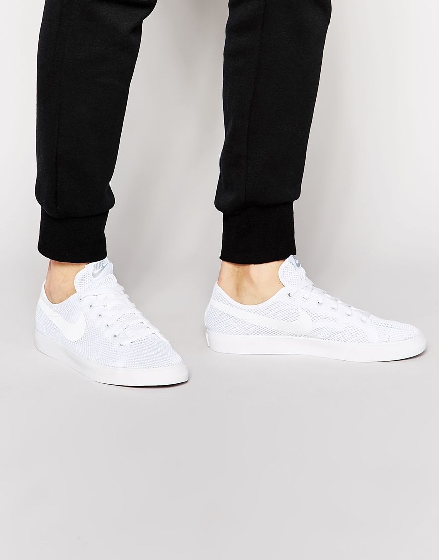 Nike Primo Court Mesh Trainers 724751-110