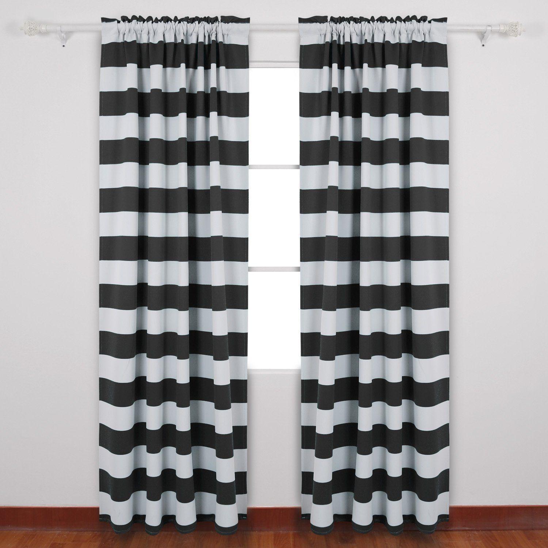 Black White Curtains Seasonal Sale Cool Curtains Kids