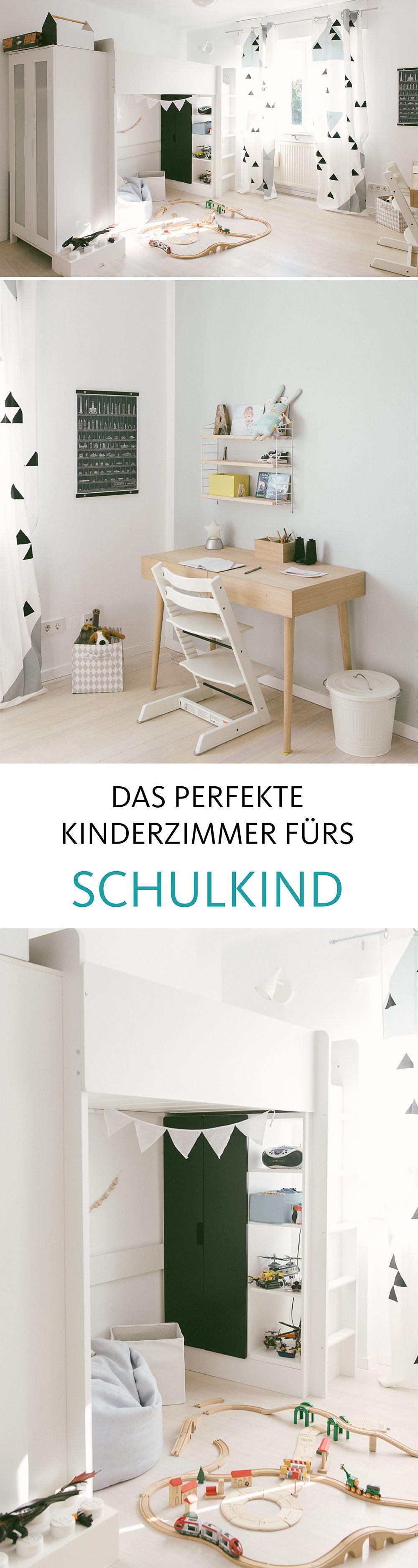 Kinderzimmer • Bilder & Ideen   Schulkinder, Kinderzimmer und Neuer