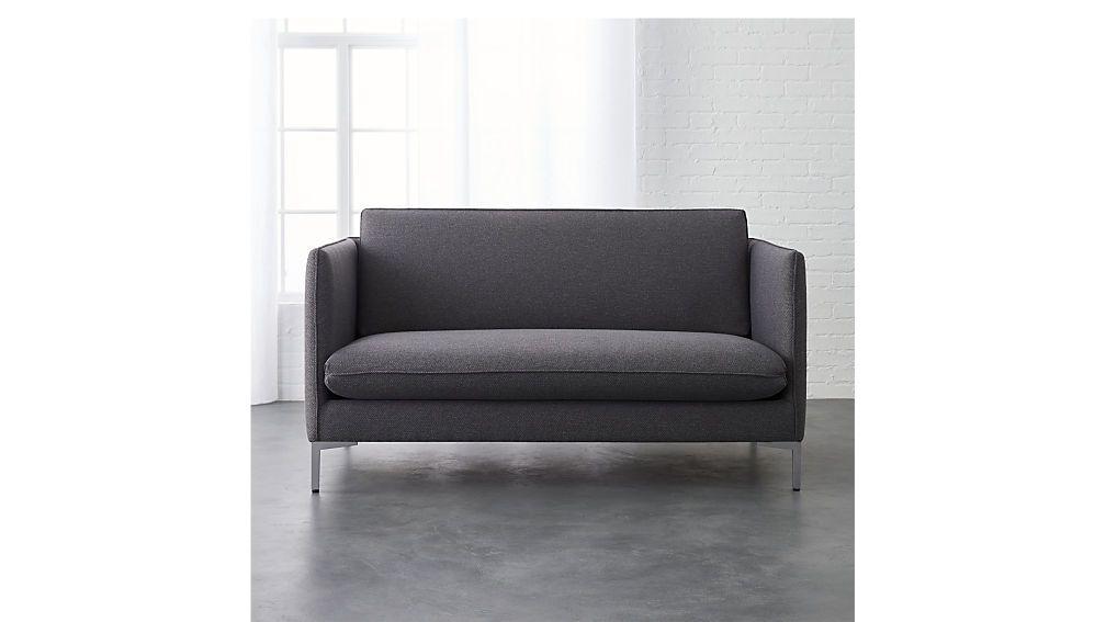 flatiron linen apartment sofa | Apartments, Menlo park and Small ...