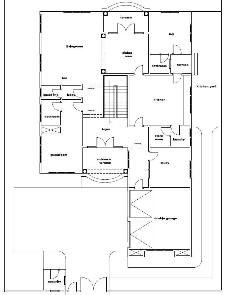 ghana house plans naa house plan house plans how to