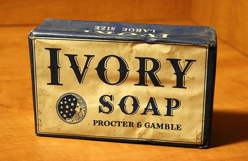 Ivory soap package
