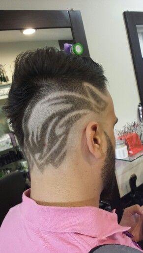 Hair Tribal Tattoo By Timos Hair Group Mohawk Hairstyles Tribal Tattoos Hair