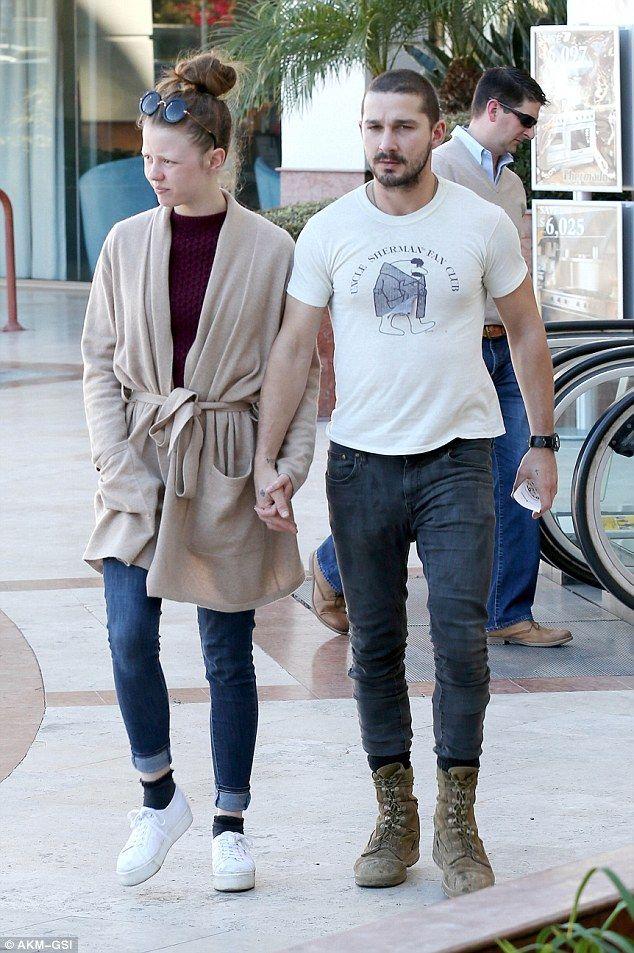 Mia Goth & her husband Shia LaBeouf | Looks I Wouldn't ...