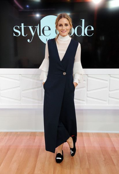 Olivia Palermo Photos Photos - Olivia Palermo appears on Amazon's Style Code Live at Amazon Style Code Live Studio on September 13, 2016 in New York City. - Olivia Palermo Appears on Amazon's 'Style Code Live'