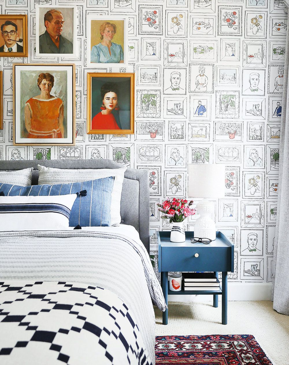 These 8 Unique Guest Bedroom Decorating Ideas All but Guarantee a