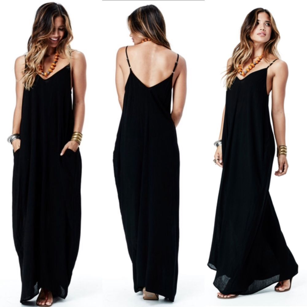 Coocon olive green maxi dress