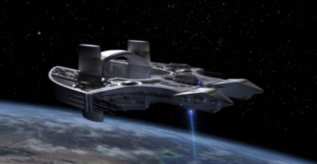 Stargate - ASrgard ship Daniel Jackson