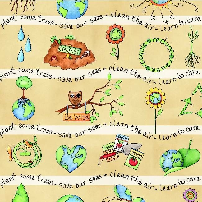 Acting to save mother earth