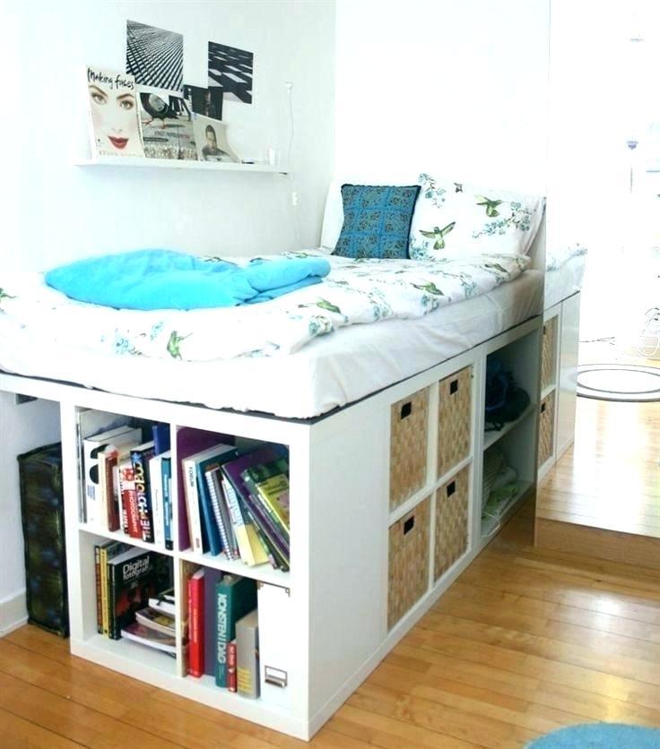 Ikea Hacks Lagerung Bett Hack Plattform Bett Hack Plattform Bett Bett Hack Beste Bett Hac In 2020 Small Space Storage Bedroom Small Bedroom Bed Bedroom Storage