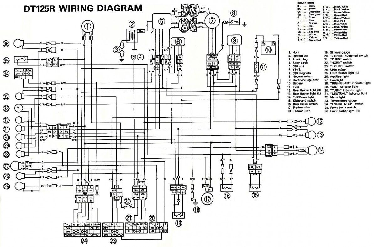 Yamaha 60 Outboard Wiring Diagram