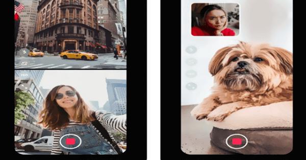 تطبيق ايفون لتسجيل فيديو وعمل بث مباشر من كلتا الكاميرتين في نفس الوقت In 2021 Camera Polaroid Film Electronic Products