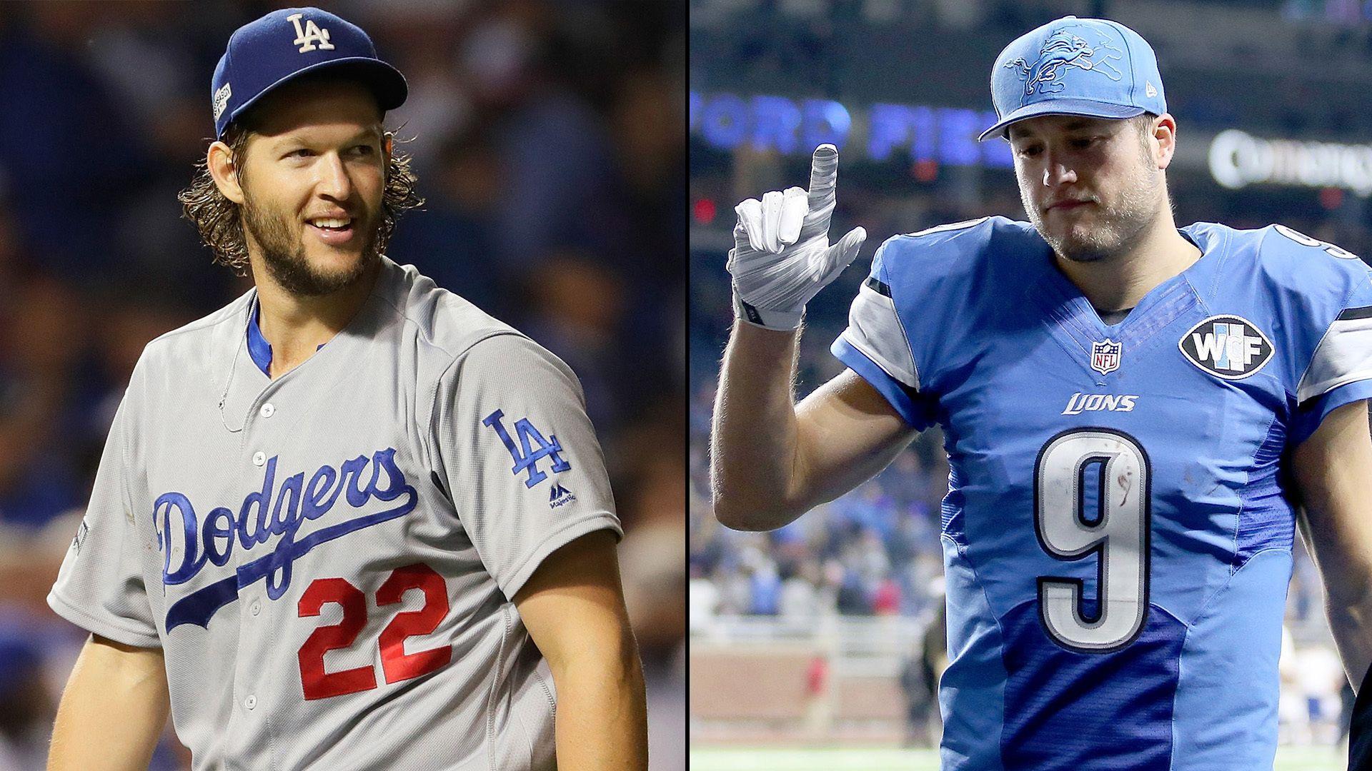 Matthew Stafford, Clayton Kershaw highest paid in NFL, MLB