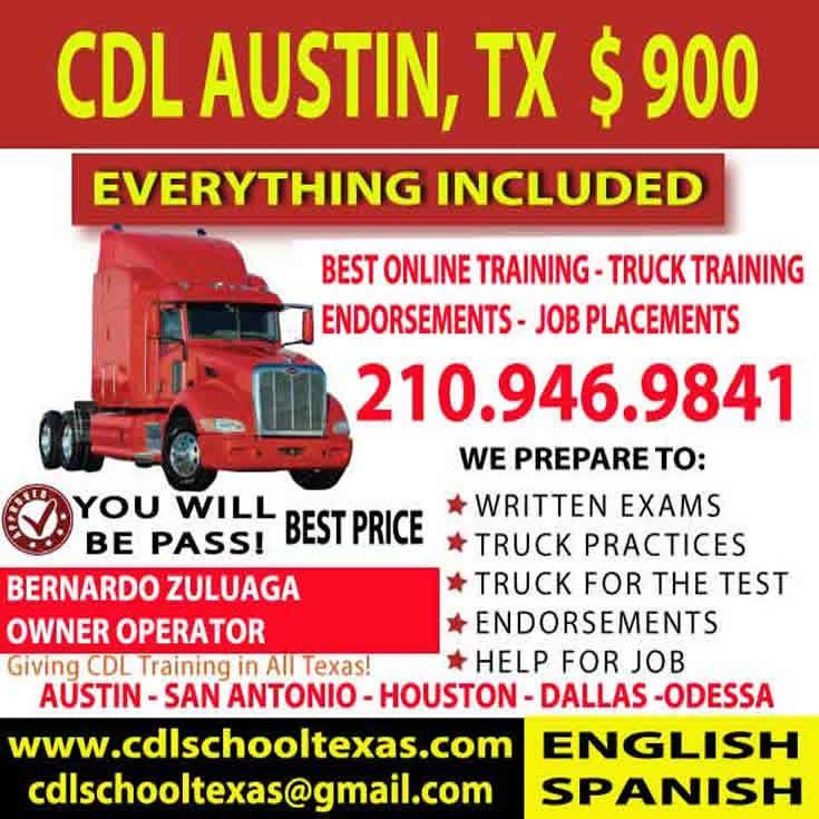 Cdl truck training dallas cdl san antonio trucks