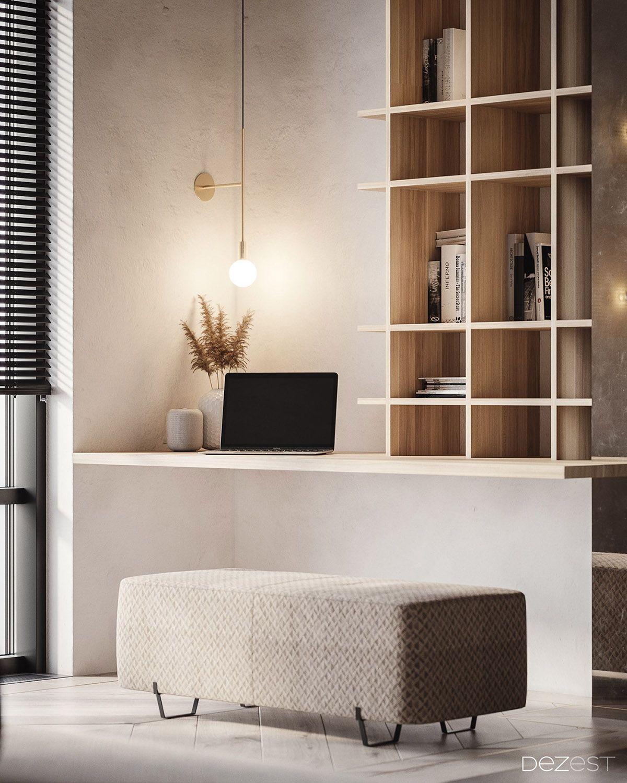 Dark Warm Welcoming Apartment Luxury House Interior Design