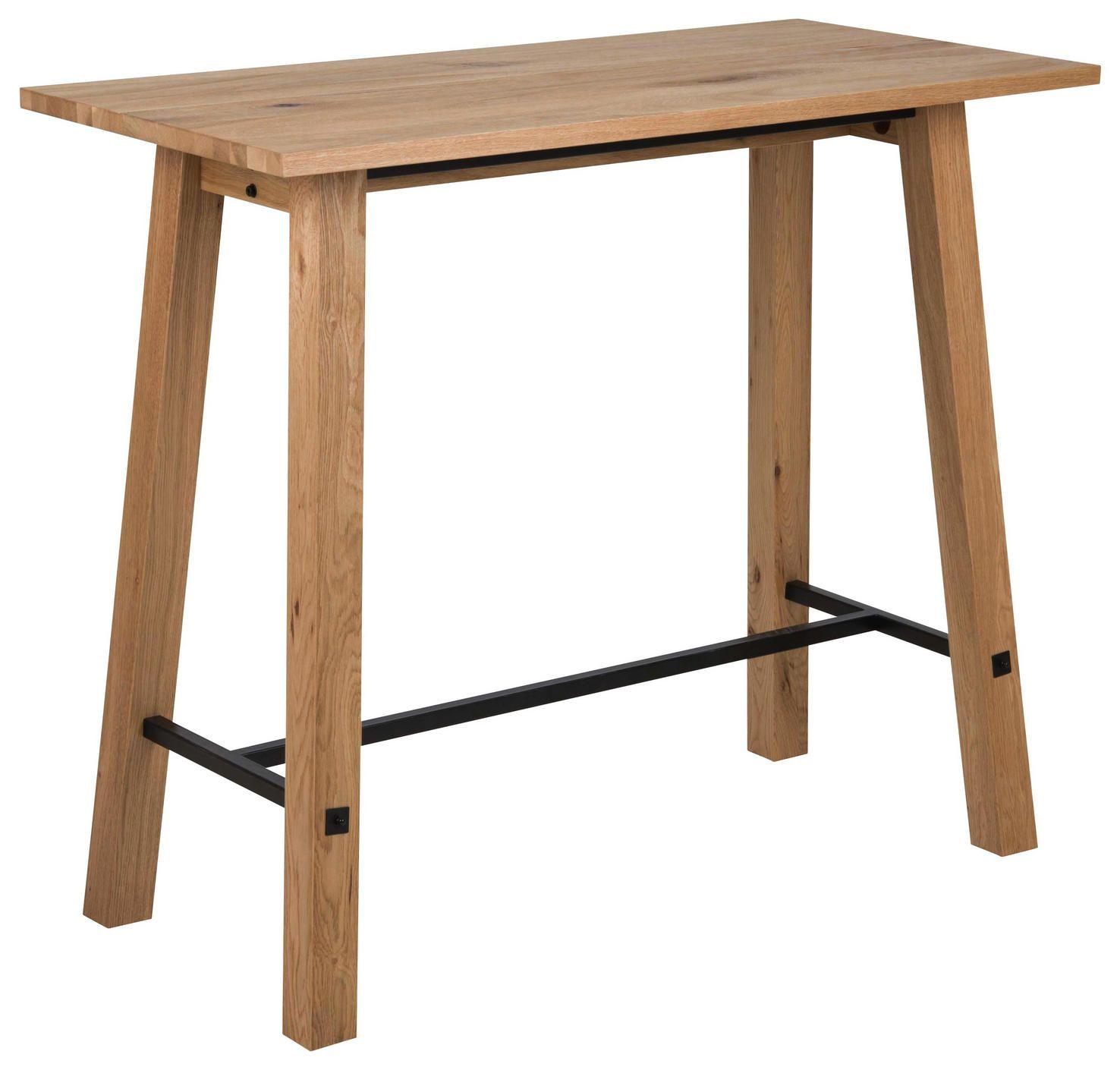 Bartisch In Holz Metall 120 60 105 Cm Bartisch Stehtisch Und