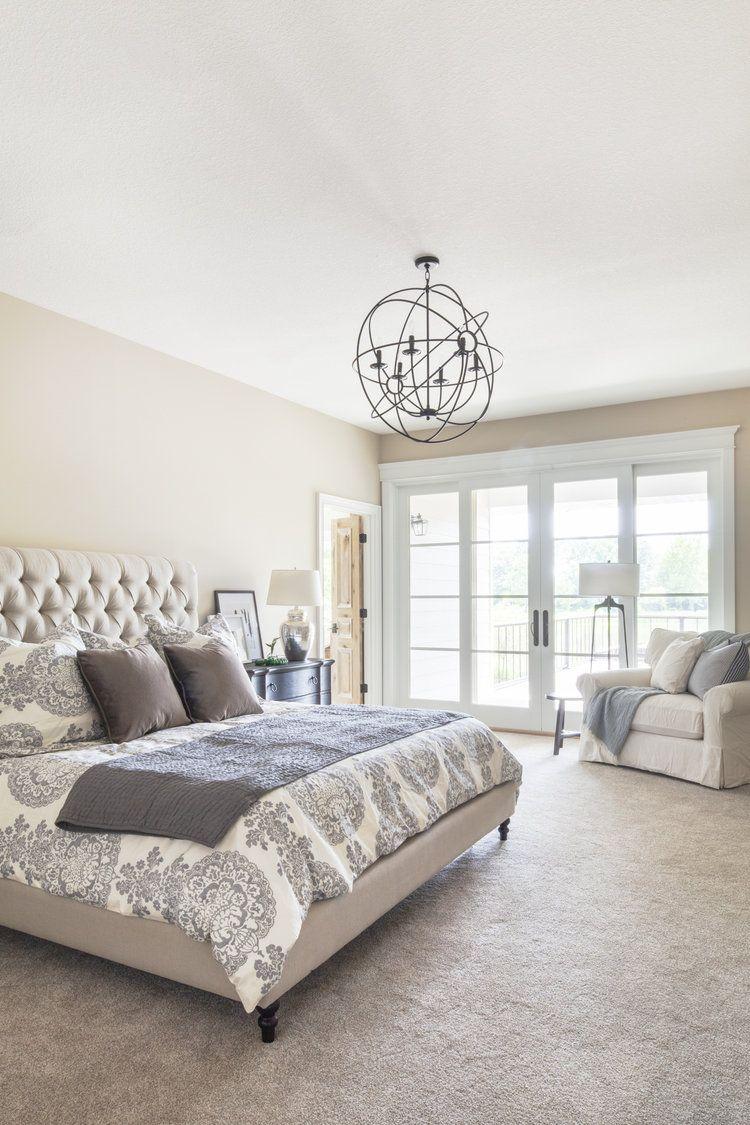 Home Reveal   BEDROOMS   Chandelier bedroom, Bedroom decor, Master ...