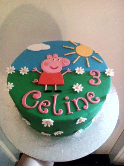 peppa pig taart Peppa pig taart | passo a passo | Pinterest peppa pig taart