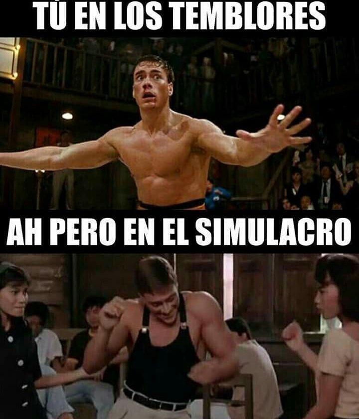 Mas De Uno Hoy En El Simulacro Memes Humor Cartoon Memes