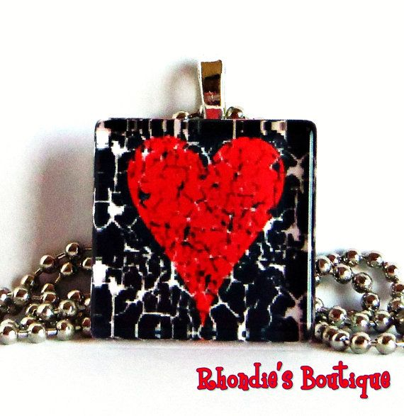 My Grungy Broken Heart by rhondiesboutique on Etsy, $6.00