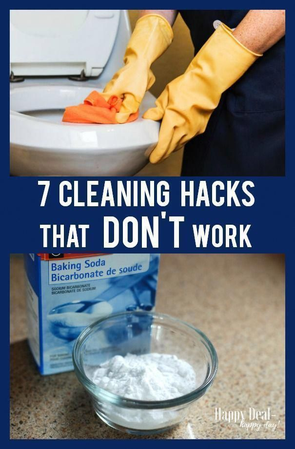 House Cleaning Hacks that DON'T work - don't bother with these so called cleaning hacks. They end up doing more harm than good - but the bottom of the article does offer tips that DO work! Cleaning Hacks that DON'T work - don't bother with these so called cleaning hacks.  They end up doing more harm than good - but the bottom of the article does offer tips that DO work!