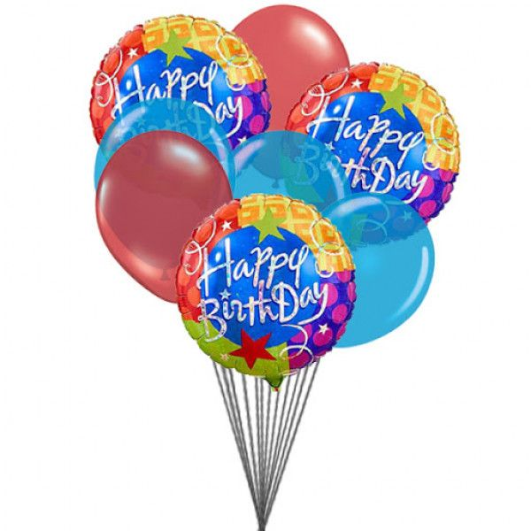 Happy Birthday Balloons For Delivery To Canada