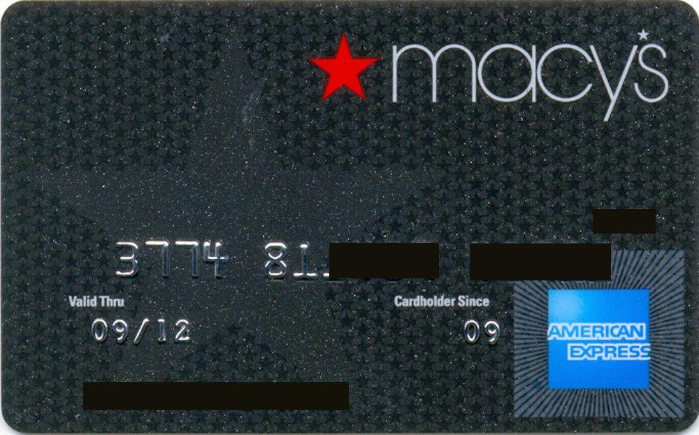 American express macys black departement stores national