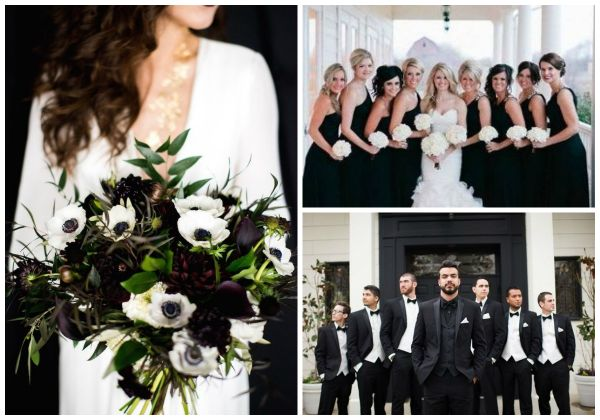 Clic Black And White Wedding Ideas Hotref Party Gifts
