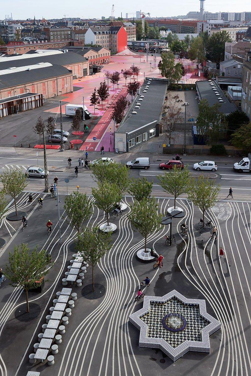 Zona-Arquitectura: Parque Urbano Superkilen_Copenhagen #Paisajismo ...