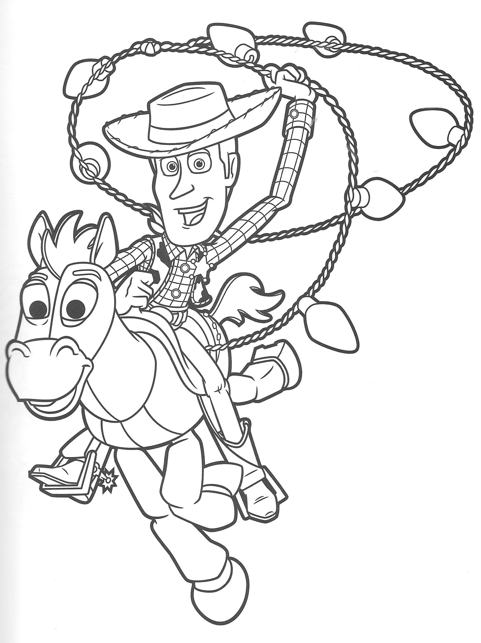 Toy Story Colouring In Pages Tips