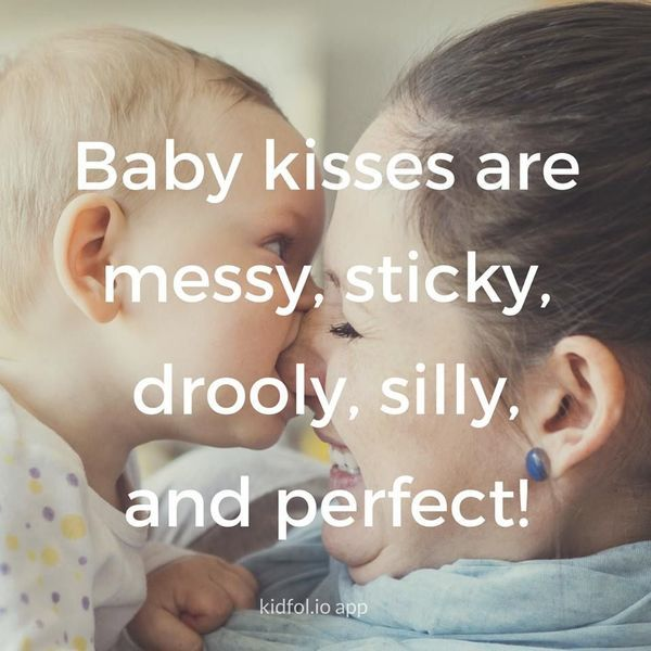 We Love Them So Much Baby Kiss Kissing Quotes Mom Quotes