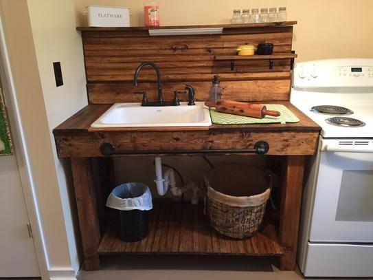 KOHLER Mayfield Drop In Cast Iron 25 In. 1 Hole Single Bowl Kitchen Sink In  White