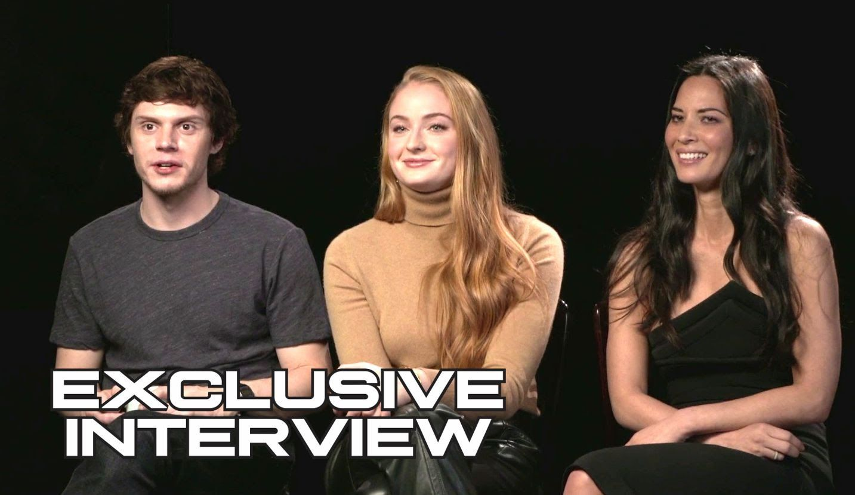 awesome Watch Sophie Turner, Olivia Munn & Evan Peters Exclusive X-MEN: APOCALYPSE Interview (2016) JoBlo.com HD