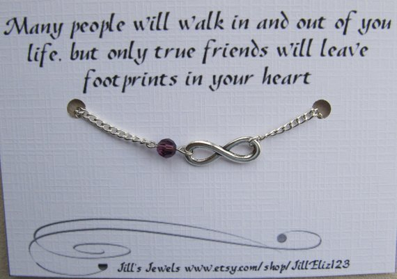 b3210e97ef164 Best Friend Bracelet, Going Away Gift, Long Distance Friendship ...