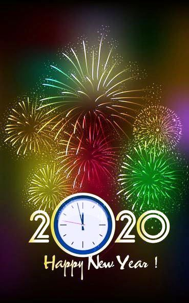 Happy new year 2020 backgrounds, images for 2020 new year