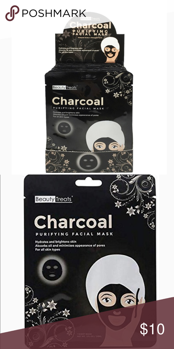 Sold Out Beauty Treats Charcoal Purifying Mask Improve Skin Texture Beauty Treats Purifying Mask