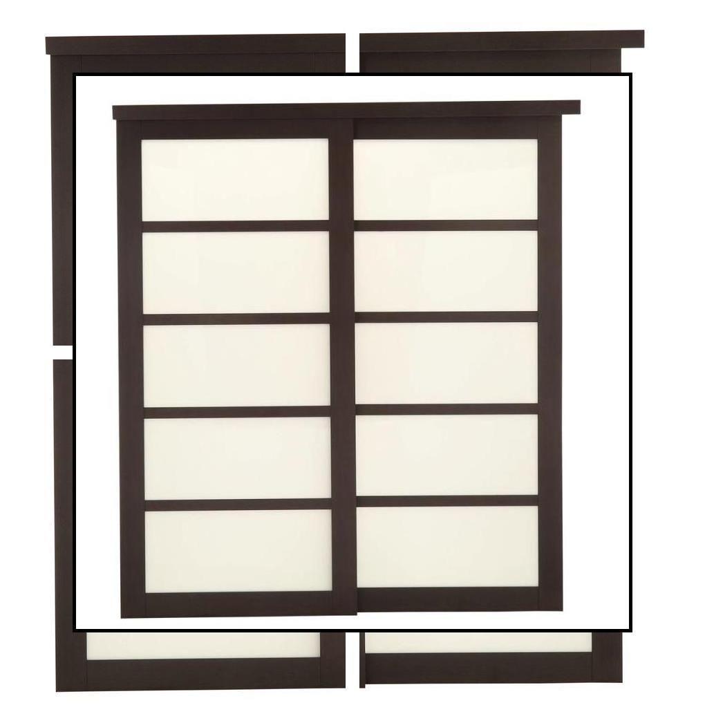 Photo of Innendørs låvedører | Tredør | Innvendige skyvedører i glasspanel