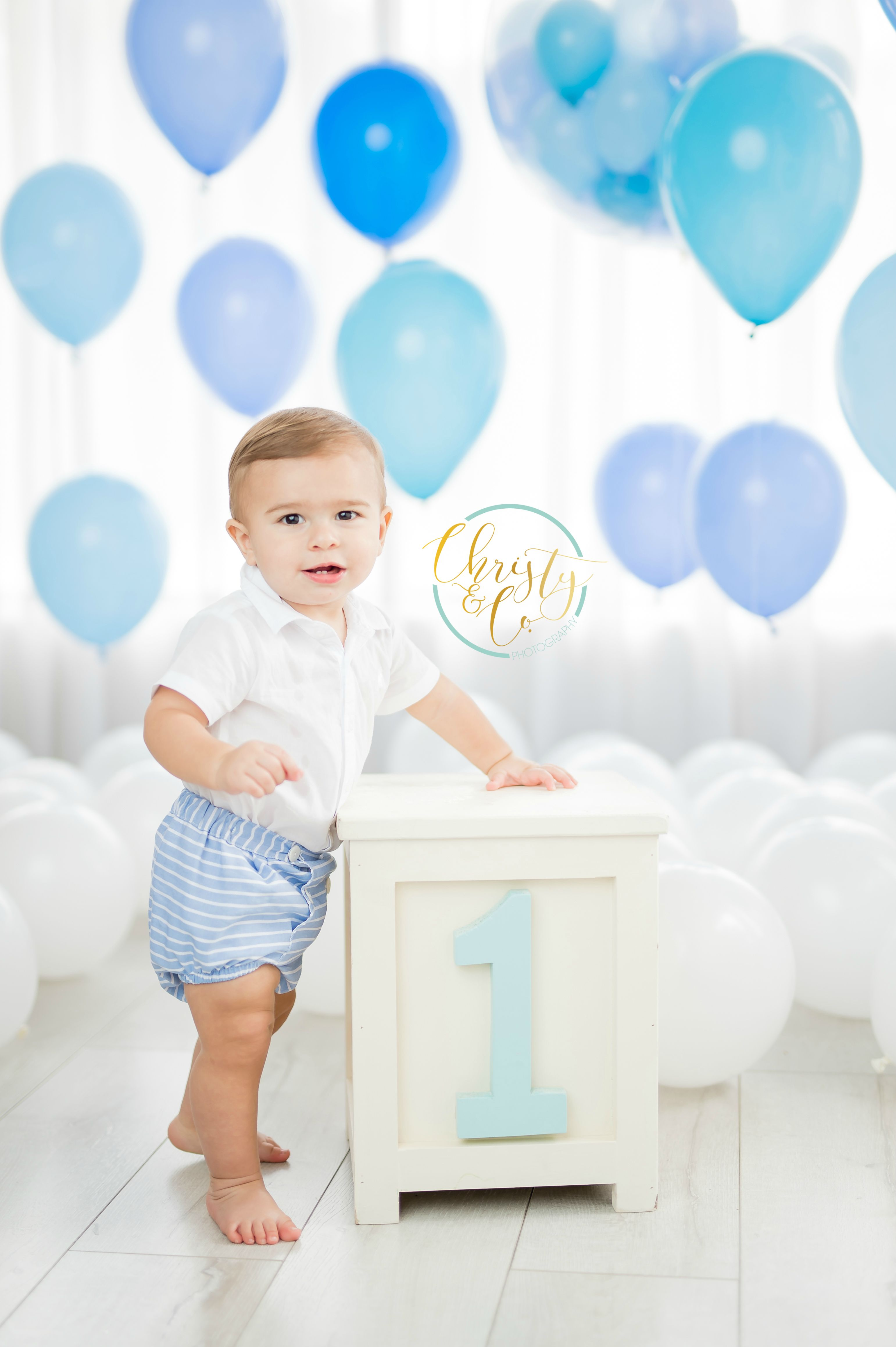 Classic Little Boy First Birthday Session Christy Co Photography First Birthday Theme Boy 1st Birthday Pictures First Birthday Pictures