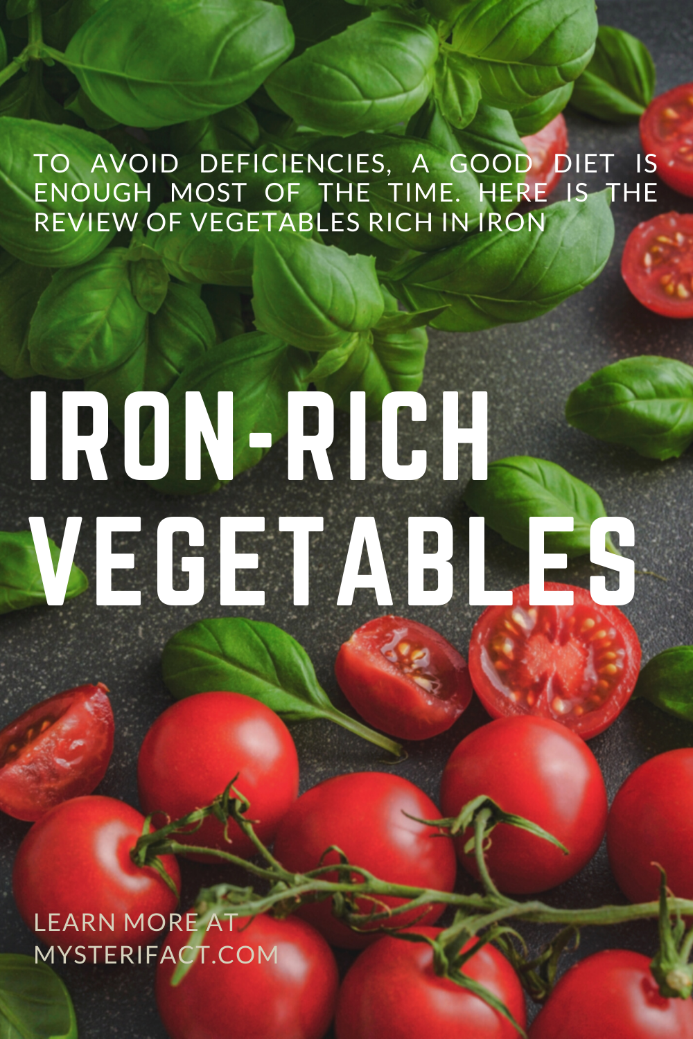 Ironrich vegetables Vegetables High in Iron in 2020