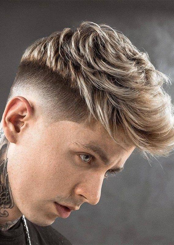 modern short haircuts men