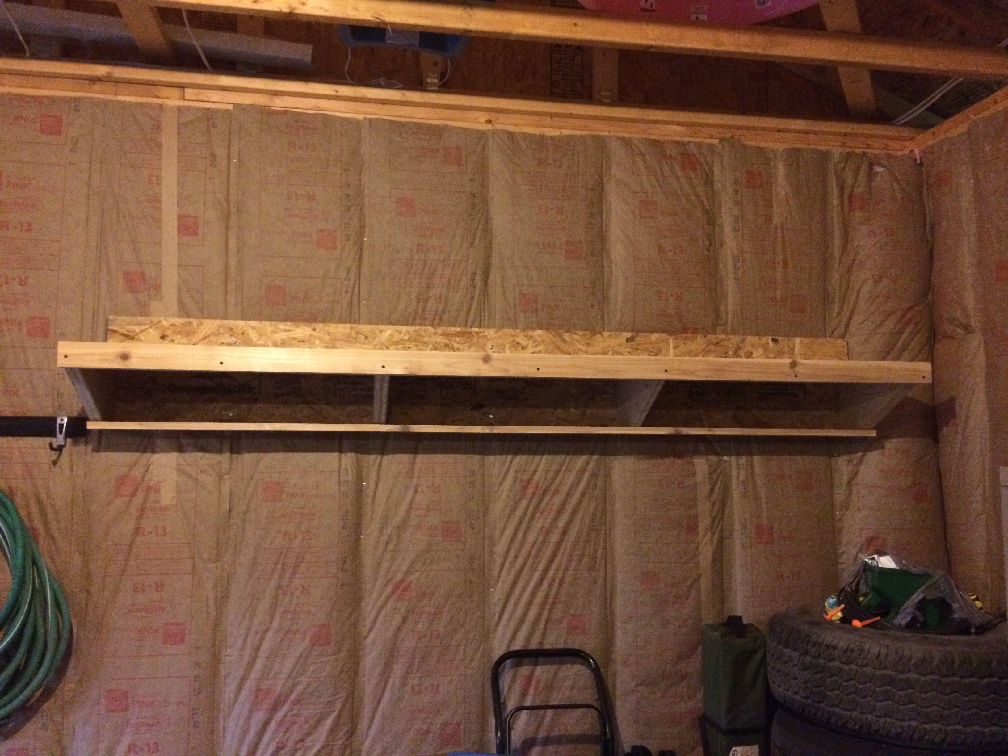 Double Decker Garage Storage Shelves & Double Decker Garage Storage Shelves | Garage storage shelves
