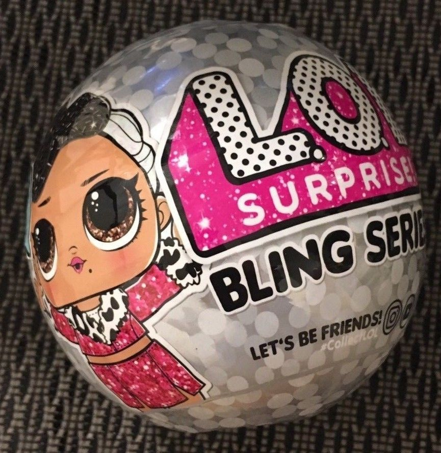 BLING SERIES DOLL BALL CHRISTMAS 2018 AUTHENTIC MGA Ship Today LOL SURPRISE