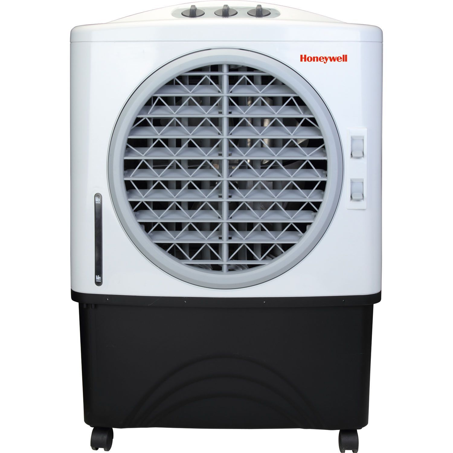 Honeywell White/ Black 100 Pt. Indoor/Outdoor Evaporative