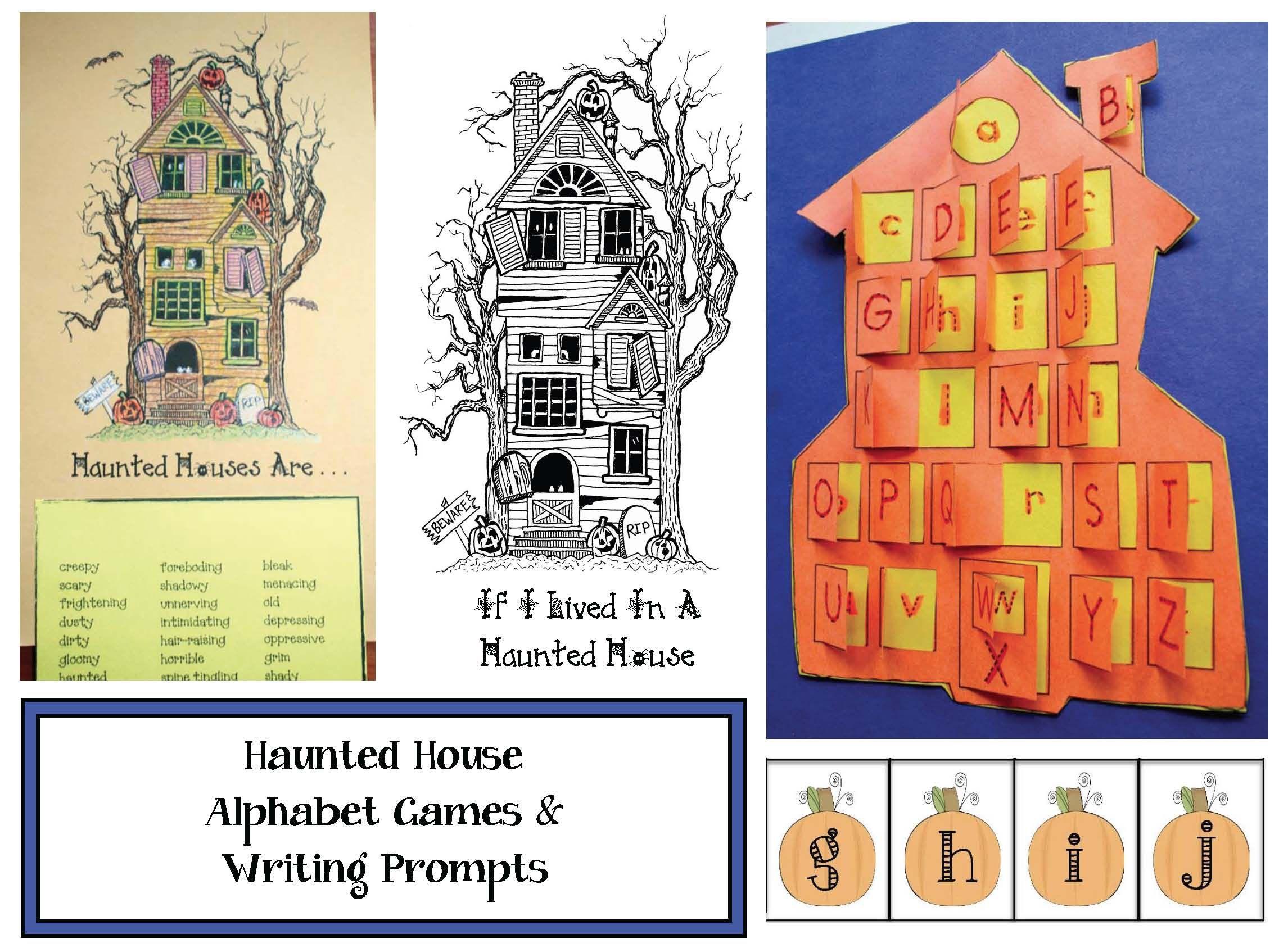 Haunted House Activities
