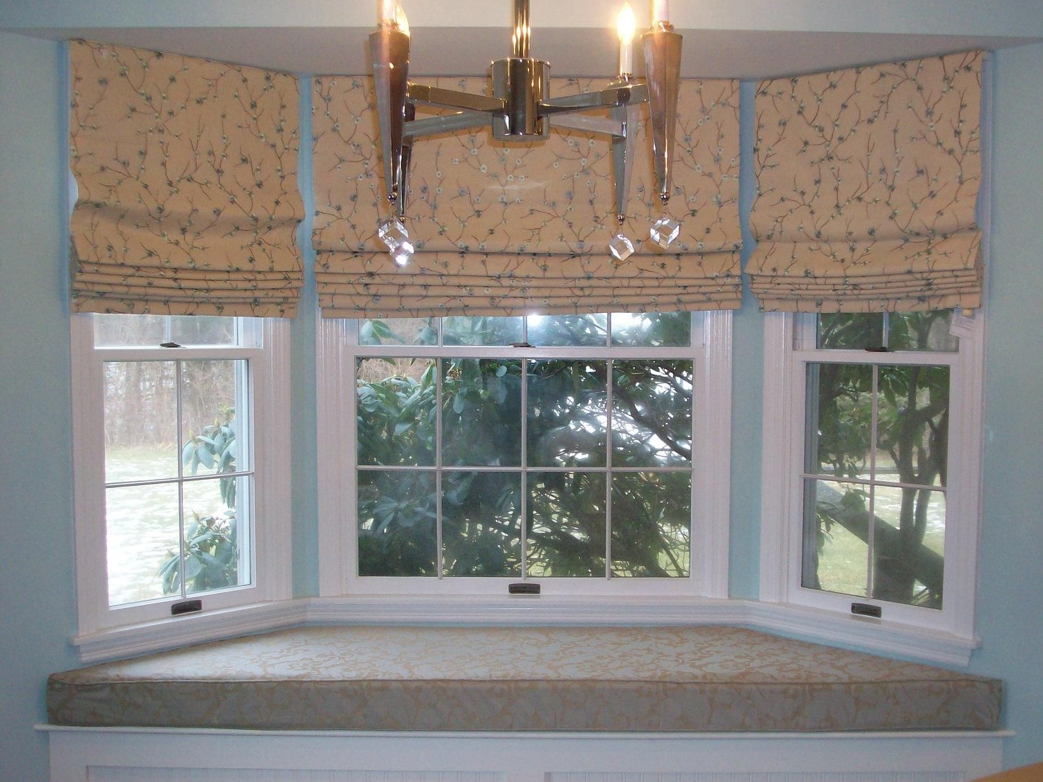 Bow Window Treatment Ideas Part - 30: Window Treatments For Bow Windows In Living Room - Google Search