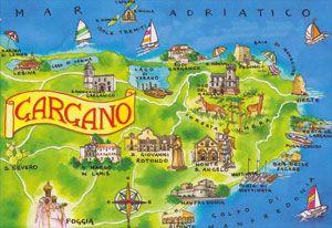 Gargano Nationalpark Apulien Italien Apulien Nationalpark Urlaub