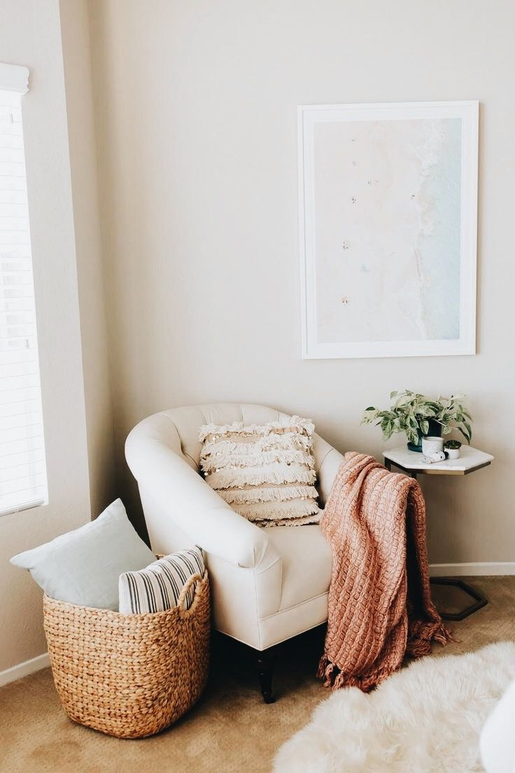 P I N T E R E S T I N S T A Laceygraceyoung In 2020 Bedroom Reading Nooks Cozy Reading Corners Living Room Designs